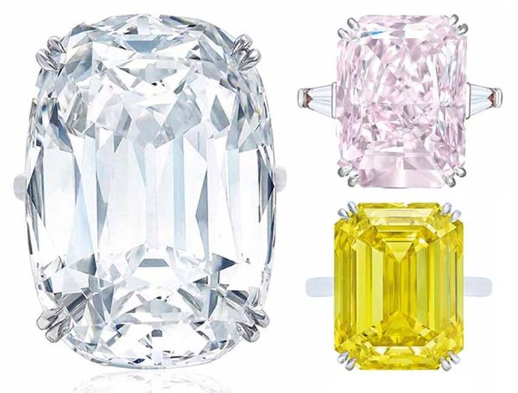 50.47-Carat Diamond Ring Is Tomorrow's Top Lot at Christie's Magnificent Jewels Sale in Geneva