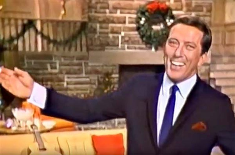 Music Friday: Wedding Ring Tops Andy Williams' 1965 'Christmas Holiday' Gift List