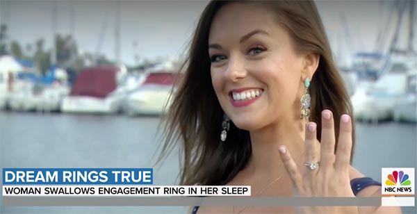 Bride-to-Be Shares How She Swallowed Her Engagement Ring During Vivid Dream
