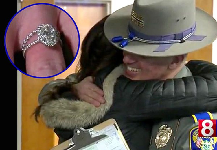 Connecticut State Trooper Solves 'The Case of the Rest Stop Wedding Rings'