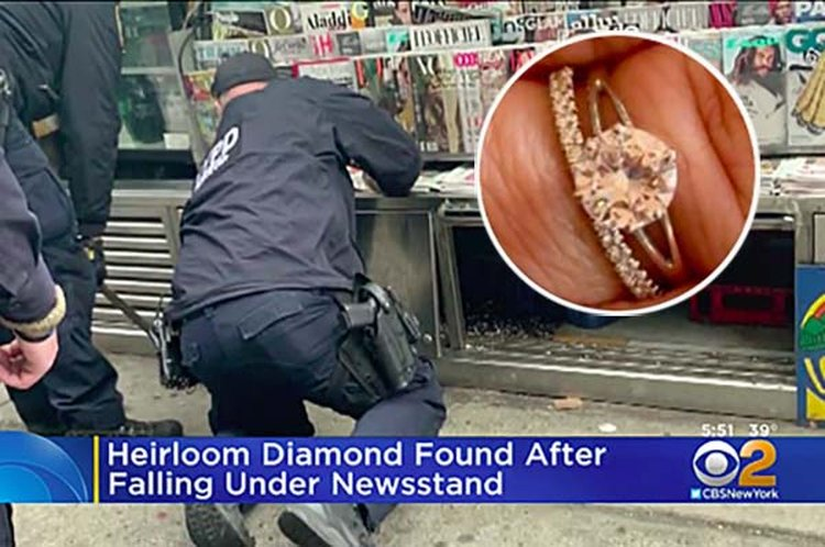 Diamond That Survived the Holocaust and Two World Wars Is Rescued in Manhattan